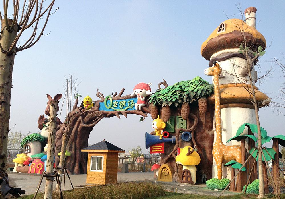 卡通动物园